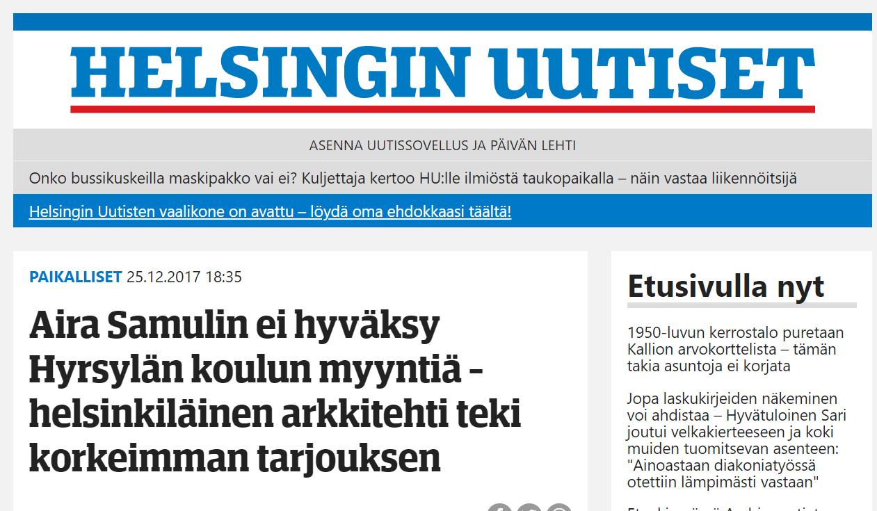 Helsingin Uutiset