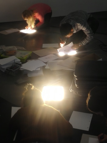 Croquis and Animation Workshop at Kiasma