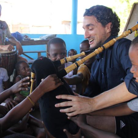 orphanage benin bagpipe aibeo