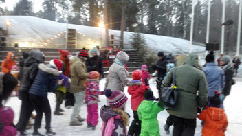 The World Music School at the Finnish Christmas Celebration of Seurasaari