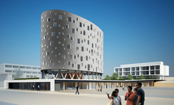 Hospital in Germany competition Woerner und partners