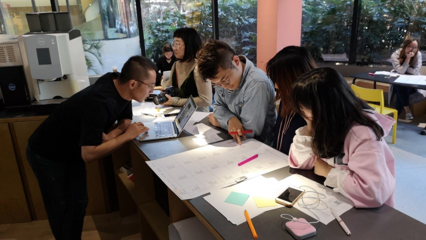 Day 1 of the Shanghai workshop group work