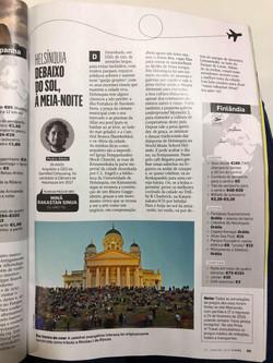 revista visao article aibeo on Helsinki