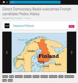 Direct Democracy radio interview USA
