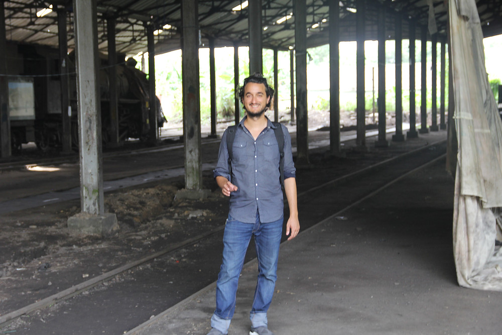 Pedro Aibéo at the Art Biennial Lagos