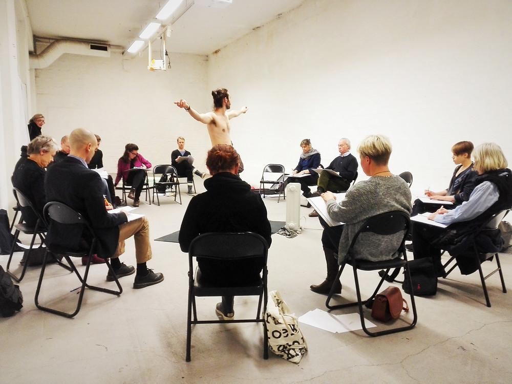 Croquis Session at Forum Box. Photo by P. Aibéo