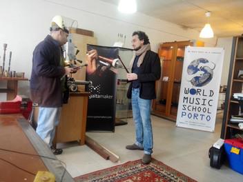 A visit to the World Music School Porto