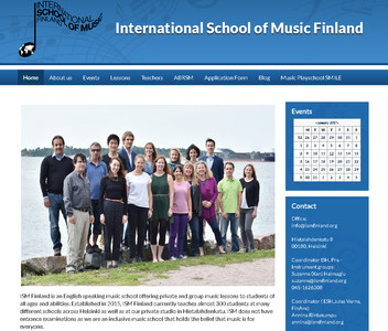 World Music School Helsinki and the collaboration with the ISMF