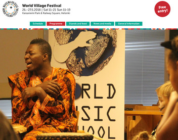 World Music School meets World Village Festival
