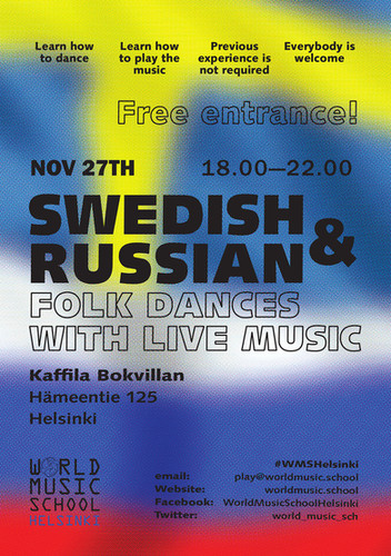 What's new on the World Music School Helsinki