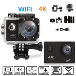ACTION CAM 4K SPORT WIFI 16MP