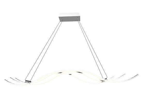 LAMPADARIO DA SOFFITTO ONDE LED INTEGRATO