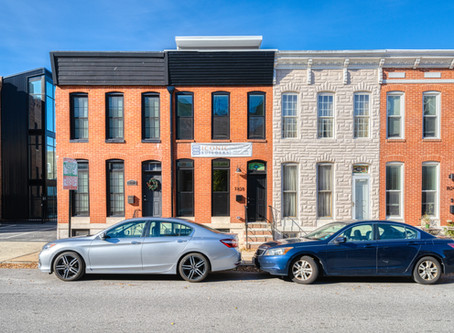 Recently Completed:1828 and 1849 South Charles Street