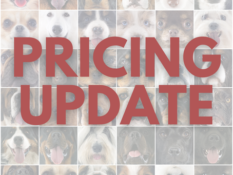 Pricing Increases Effective 11/1/21