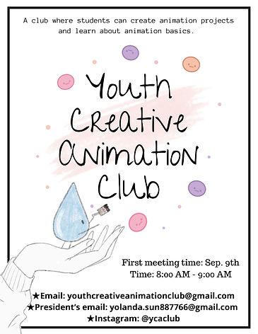 YCAC (Youth Creative Animation Club)