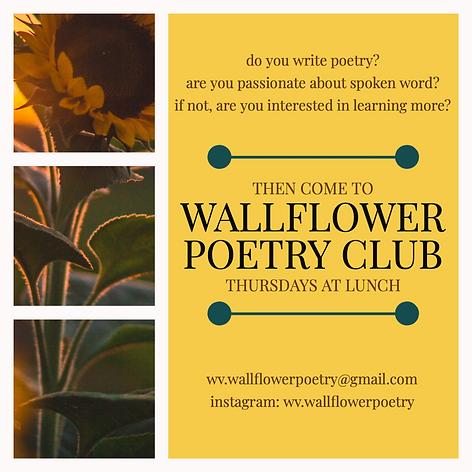Wallflower Poetry