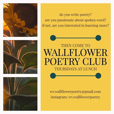 Wallflower Poetry