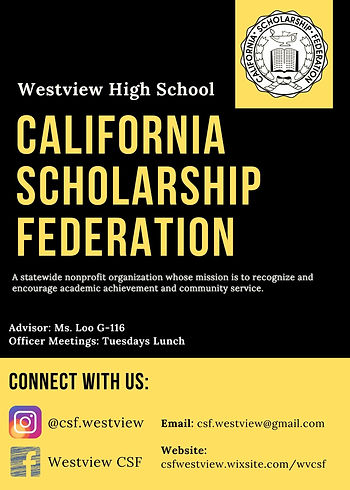 CSF (California Scholarship Federation)