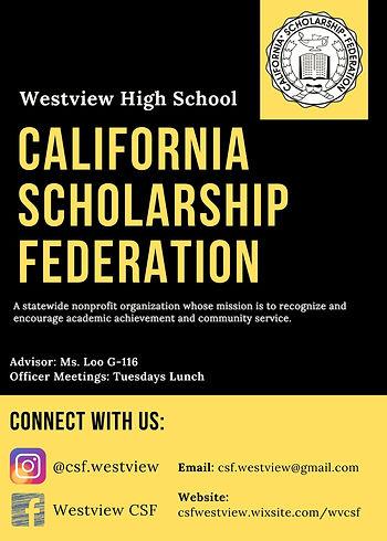 CSF (California Scholarship Federation)