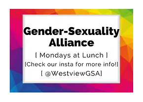 GSA (Gender and Sexuality Alliance)