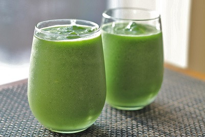 Healthy Shamrock Shake a.k.a the best protein shake