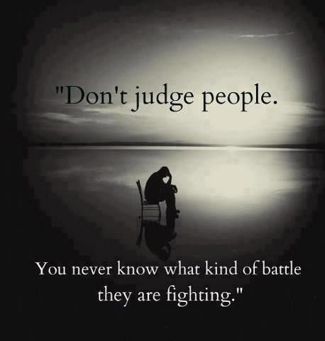 Judging Others = Judgment of Yourself