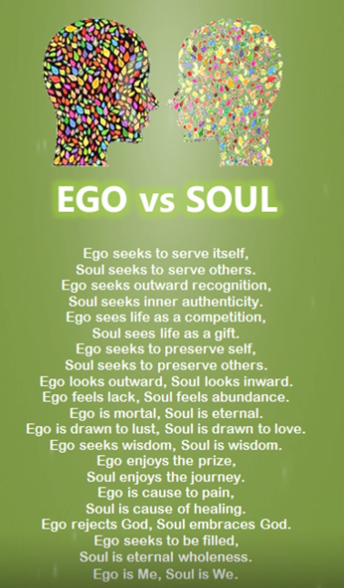 Healthy Ego vs. Unhealthy Ego