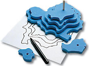 Contour Mapping activity kit