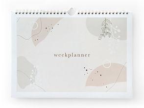 Weekplanner Eclipse Maan Amsterdam hoofd