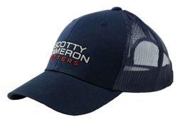 Scotty Cameron Mesh Cap Snapback (Navy)