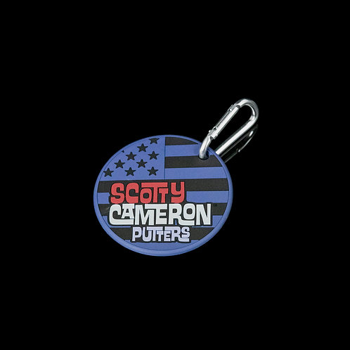 Scotty Cameron Putting Disk & Bag Tag West Coast USA Design