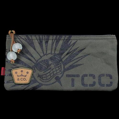 TCC Agave Man Olive Canvas Cash Bag