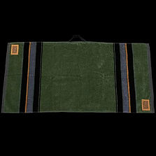 Leather Patch Caddy Towel (Green).jpg