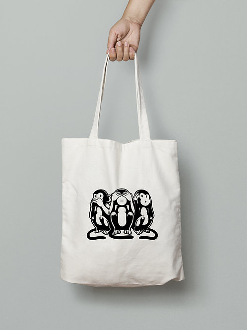 Speak no Evil, See no Evil, Hear no Evil Tote Bag