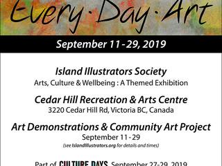 Island Illustrators Society Art Show September 11 - 29, 2019