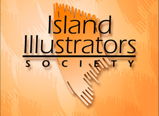 The Island Illustrators Society...25th anniversary ...68 studio visits