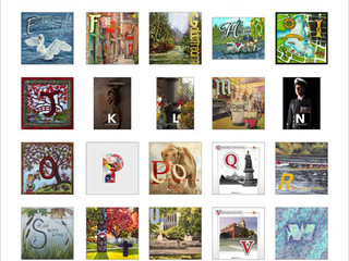 Island Illustrators Society's Traveling Illustrated Alphabet 2016