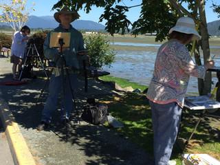 Urban Sketching Trip - Cowichan Bay, BC