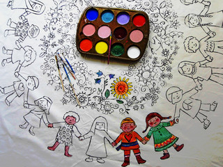 Team Up With An Artist (if you are 6 to 9 years old!)