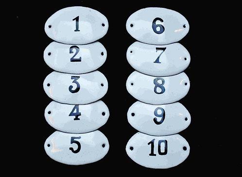 Numéros 1-10