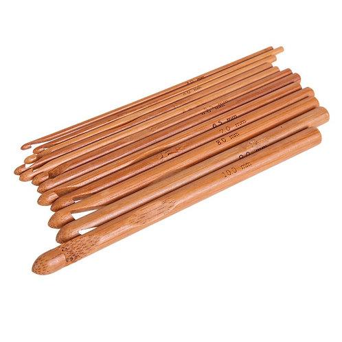Декоративные крючки из бамбука