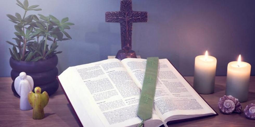 Biblíuleg íhugun 23-26 sept 2021