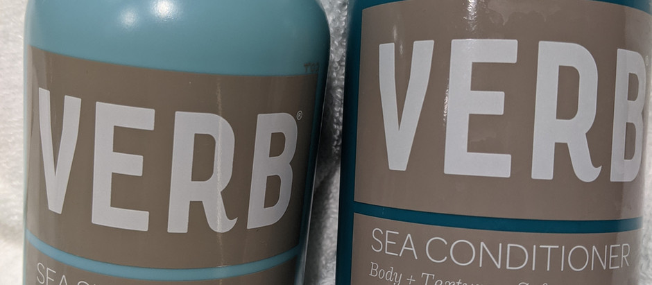Verb Review: Sea Shampoo and Conditioner