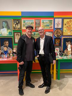 John Newson & Frans Wynans