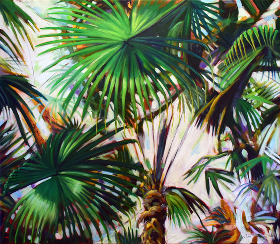 Cabbage palms 3 - Julie Mckenzie