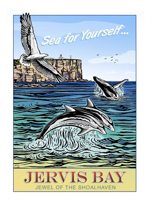Jervis Bay Poster