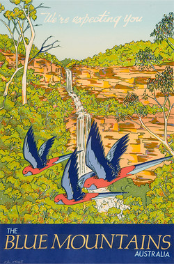 Katoomba Falls with Roselas