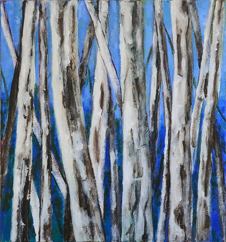 Moods of the forest- blue