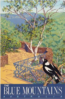 Everglades Gardens with Magpie