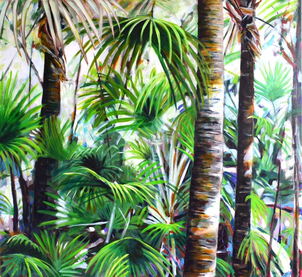Frazer Beach, Cabbage Palms